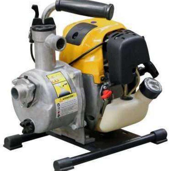 1in Cromtech Petrol Portable Pump 374x398